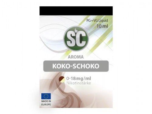 SC E-Liquid Kokos Schokolade 10ml