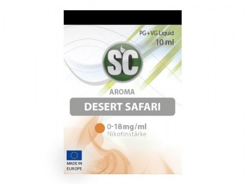 SC E-Liquid Desert Safari Tabak 10ml