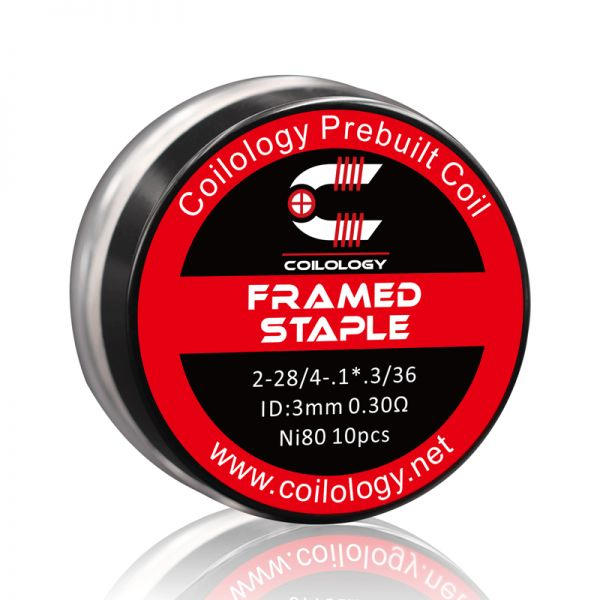 Coilology Framed Staple 0,3 Ohm Ni80 (0,15 Ohm Dual)