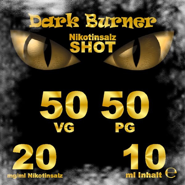 Dark Burner Nikotinsalz Shot 20mg