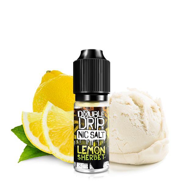 Double Drip NicSalt Lemon Sherbet 10ml