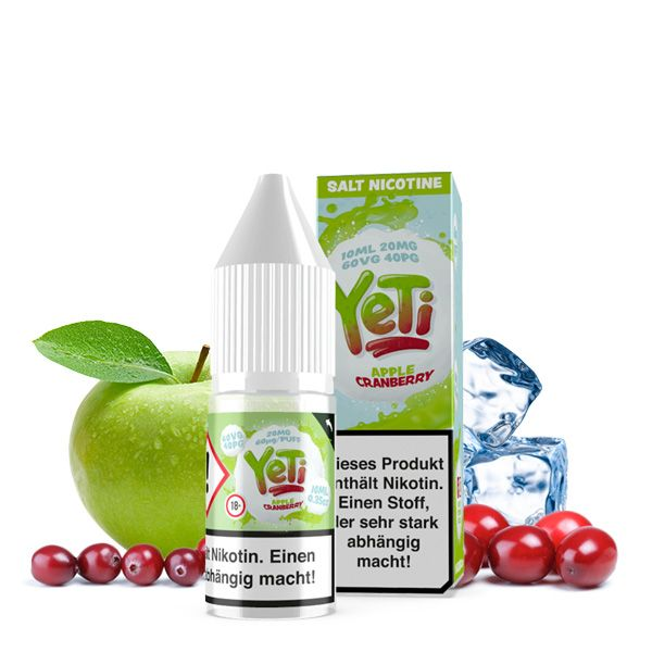 Yeti NicSalt Apple Cranberry 10ml