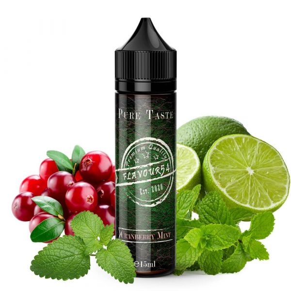 Flavour 54 Aroma Cranberry Mint 15ml