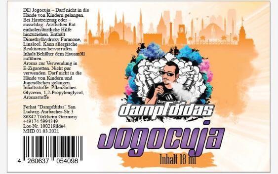 Dampfdidas Aroma Jogocuja 18ml