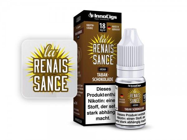 InnoCigs La Renaissance Tabak Liquid 10ml