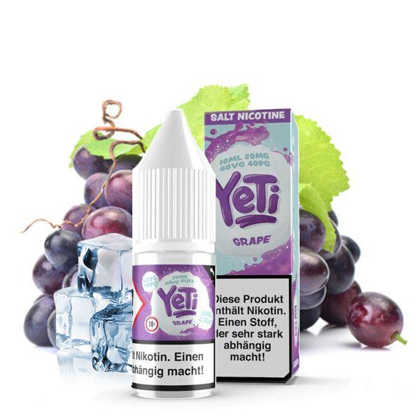 Yeti NicSalt Grape 10ml