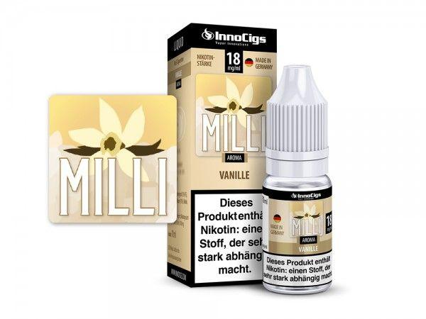 InnoCigs Milli Vanille Liquid 10ml