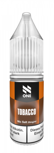 N One NicSalt Tobacco 10ml