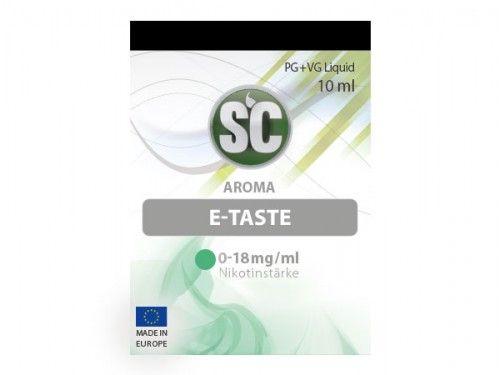 SC E-Liquid E-Taste 10ml