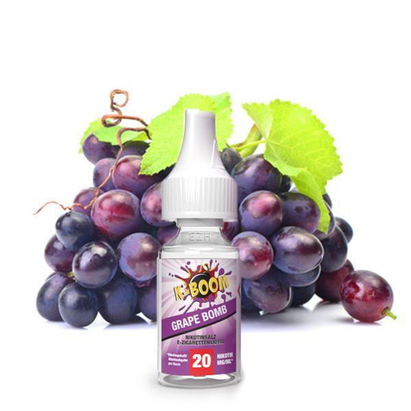K-Boom Nicsalt Grape Bomb 10ml