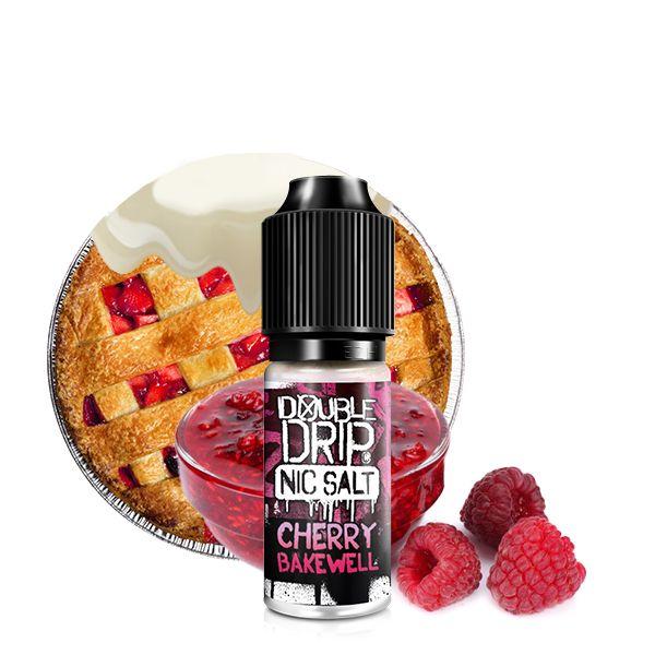Double Drip NicSalt Cherry Bakewell 10ml