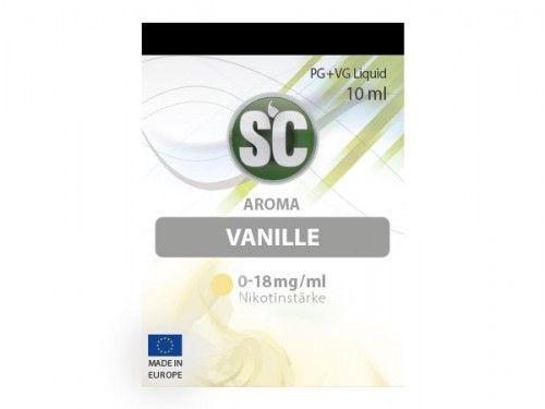 SC E-Liquid Vanille 10ml