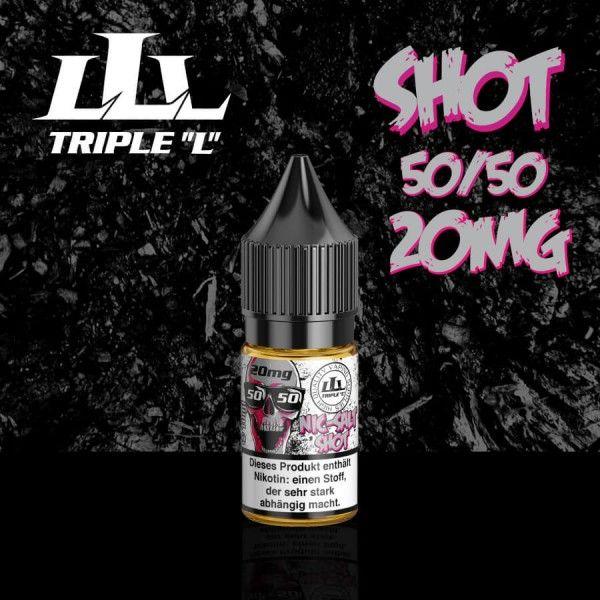 Triple L Nikotinsalz Shot 20mg