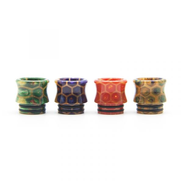 810 Drip Tip Snakeskin Curved D008H2