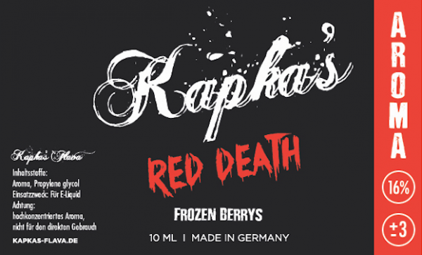 Kapka´s Red Death 10ml