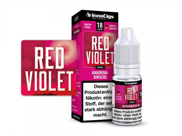 InnoCigs Red Violet Liquid 10ml