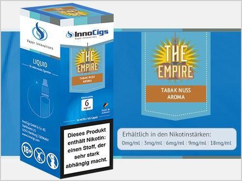 InnoCigs The Empire Tabak Liquid 10ml