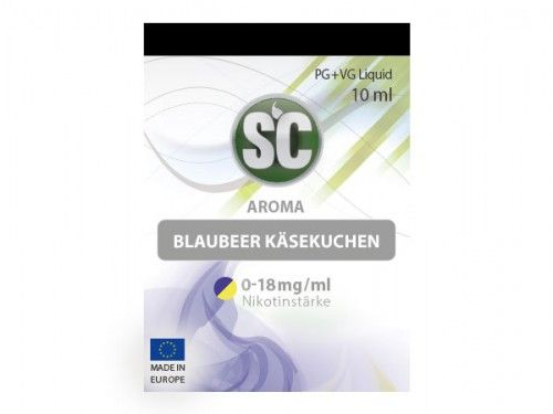 SC E-Liquid Blaubeer Käsekuchen 10ml