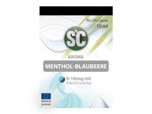 SC E-Liquid Menthol Blaubeere 10ml