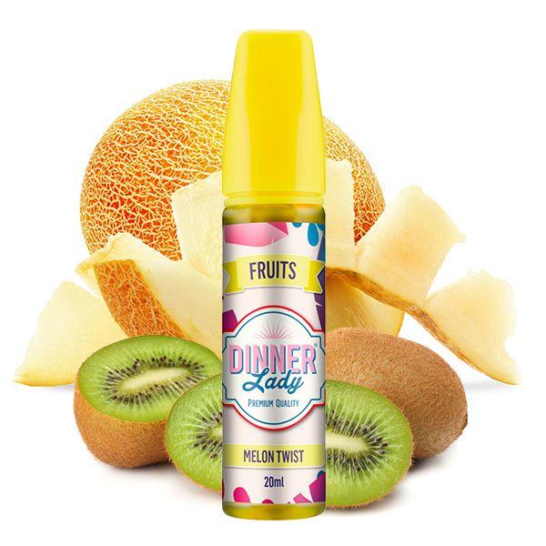 Dinner Lady Fruits Aroma Kiwi Melon 20ml