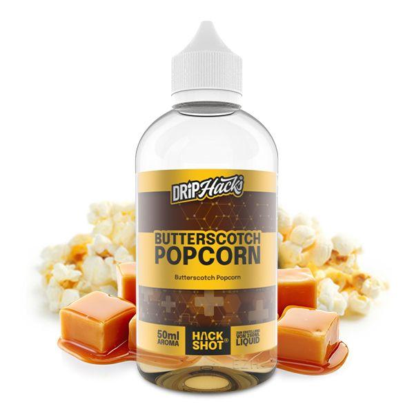 Drip Hacks Butterscotch Popcorn Hackshot 50ml