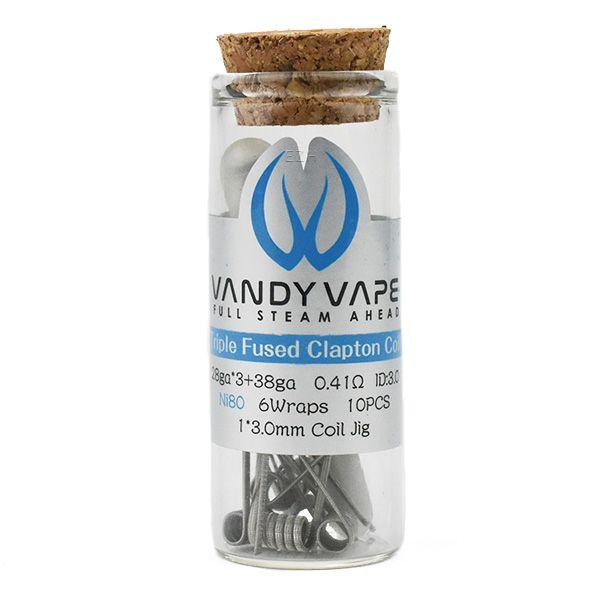 Vandy Vape Prebuilt Ni80 Triple Fused Clapton Coil 0,41 Ohm