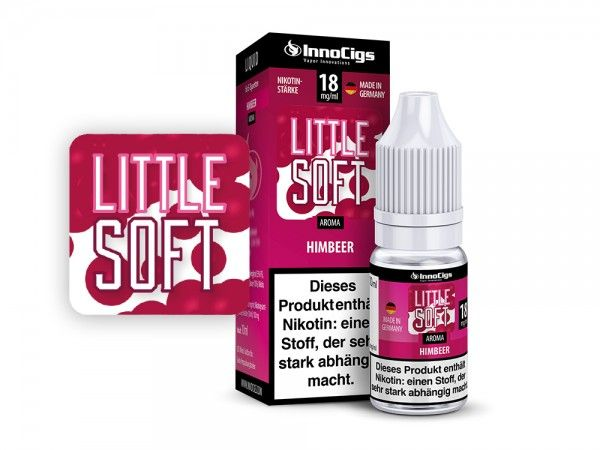 InnoCigs Little Soft Himbeer Liquid 10ml