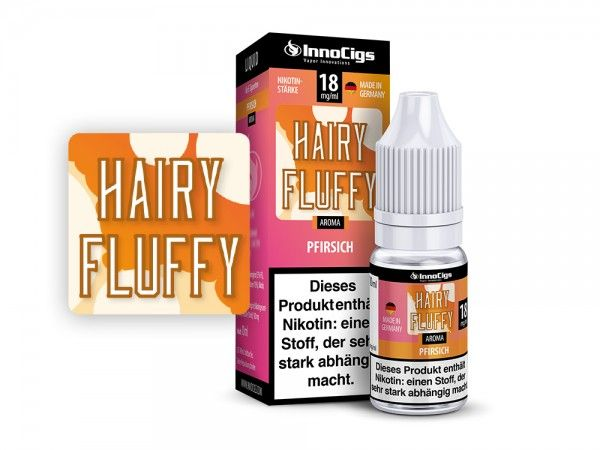 InnoCigs Hairy Fluffy Pfirsich Liquid 10ml