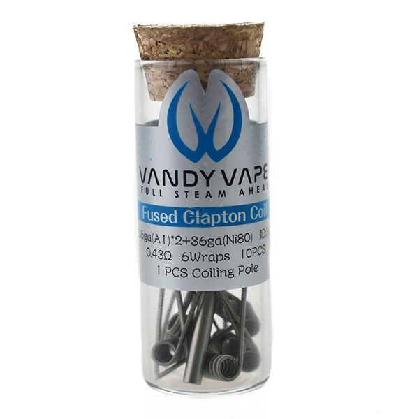 Vandy Vape Prebuilt A1/Ni80 Coil (0,43 Ohm)