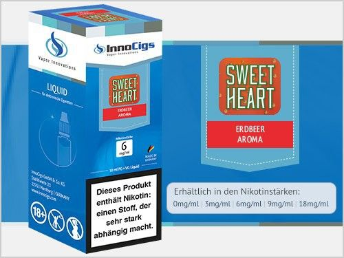 InnoCigs Sweetheart Liquid 10ml