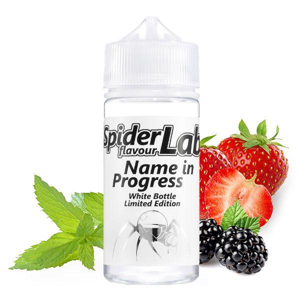 SpiderLab White Bottle Name in Progress 10ml