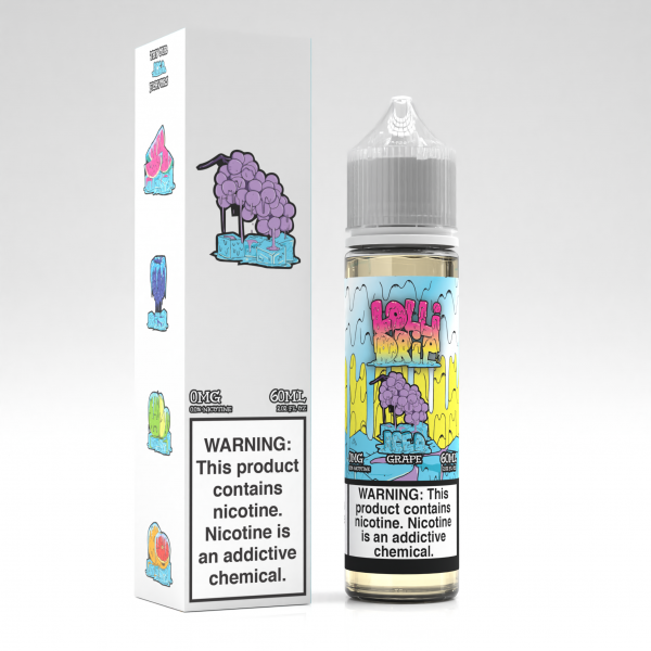 Lolli Drip Iced Grape 50ml