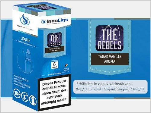 InnoCigs The Rebels Tabak Liquid 10ml
