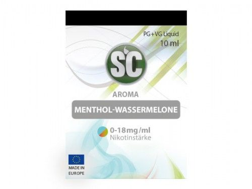 SC E-Liquid Menthol Wassermelone 10ml