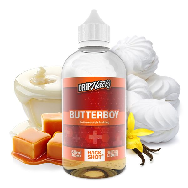 Drip Hacks Butter Boy Hackshot 50ml