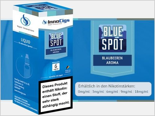 InnoCigs Blue Spot Liquid 10ml
