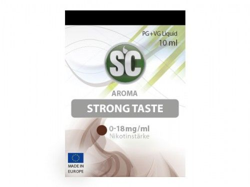 SC E-Liquid Strong Taste Tabak 10ml