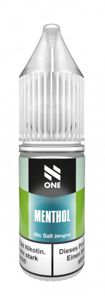 N One NicSalt Menthol 10ml
