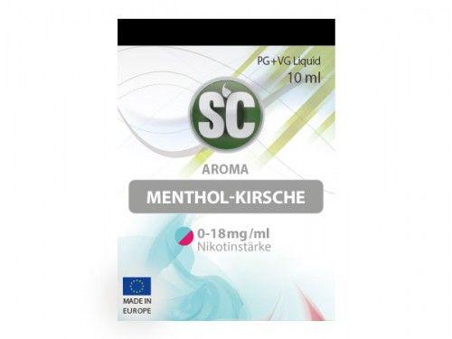 SC E-Liquid Menthol Kirsche 10ml