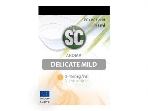 SC E-Liquid Delicate Mild Tabak 10ml