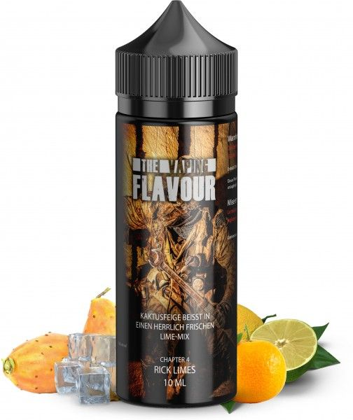 The Vaping Flavour Rick Limes 10ml Aroma