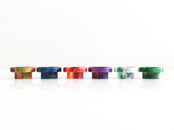 810 Resin Wide Bore Drip Tip D015-2