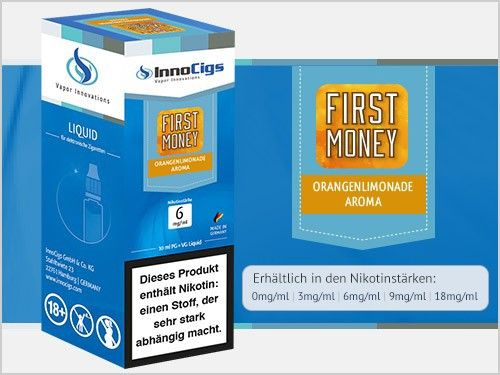 InnoCigs First Money Liquid 10ml