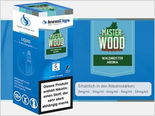 InnoCigs Master Wood Liquid 10ml