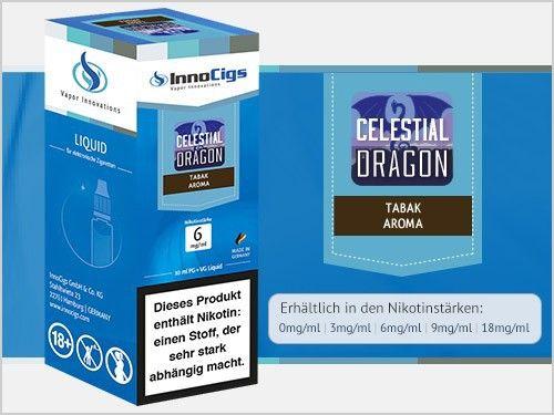 InnoCigs Celestial Dragon Tabak Liquid 10ml