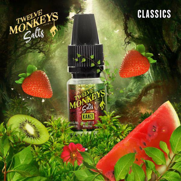 Twelve Monkeys NicSalt Kanzi 10ml
