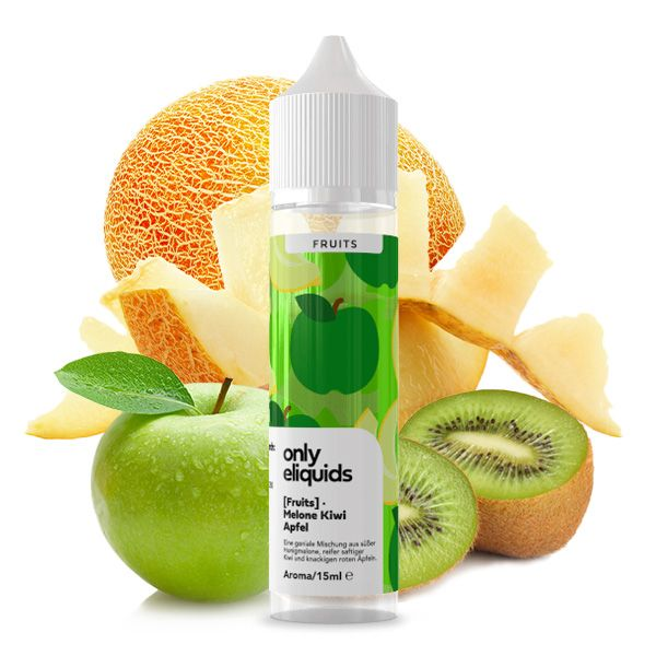 Only Fruits Aroma Melone Apfel Kiwi 15ml