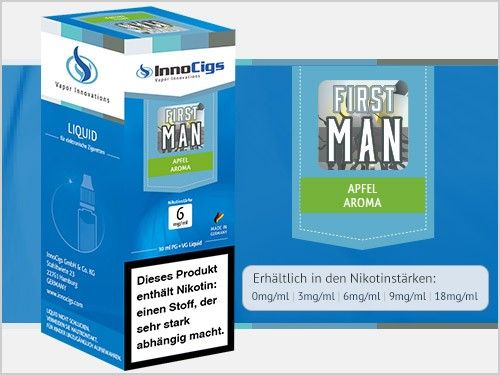 InnoCigs First Man Liquid 10ml