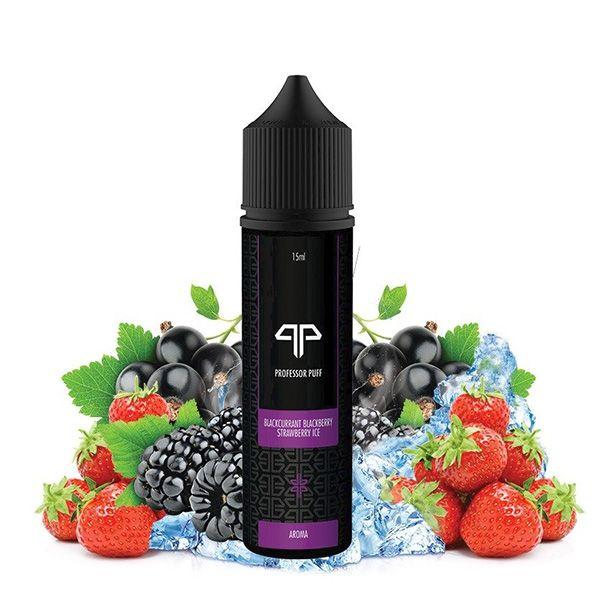 Professor Puff Aroma Blackcurrant Blackberry Strawberry Ice 15ml