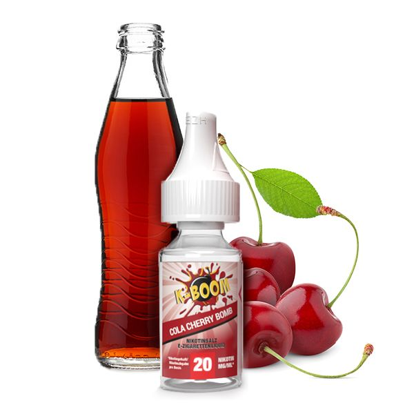 K-Boom Nicsalt Cherry Cola Bomb 10ml